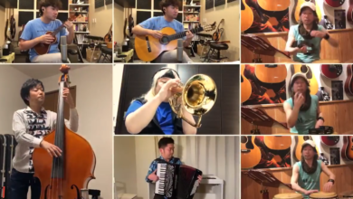 Photo of Socially distant performance of the Animal Crossing theme will brighten your day