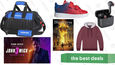 Photo of Saturday's Best Deals: John Wick, Soft Hoodies, Bloodborne Comics, and More
