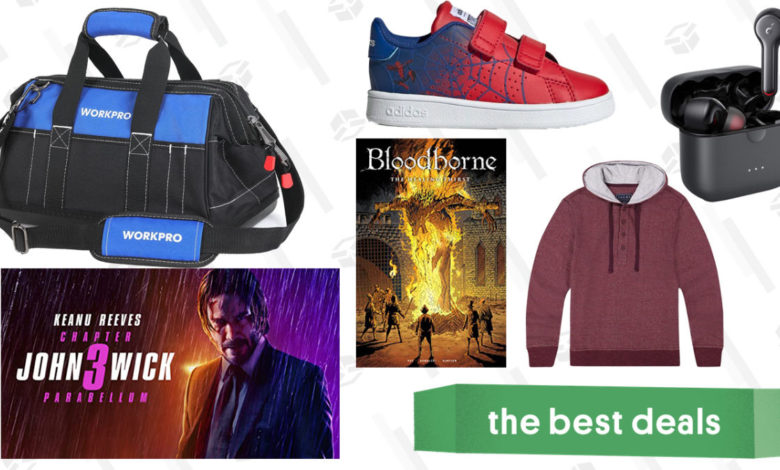 Saturday's Best Deals: John Wick, Soft Hoodies, Bloodborne Comics, and More