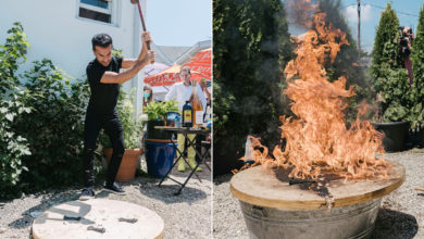 Photo of Hamptons eatery burns famed table where Jeffrey Epstein and Harvey Weinstein dined