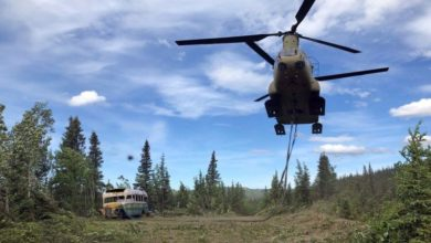 Photo of 'Into the Wild' bus takes its last journey, out of the wild