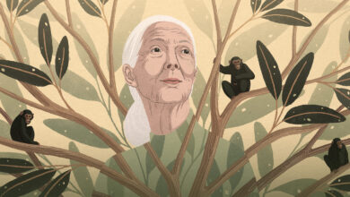 Photo of Jane Goodall on What it Means to Be Human