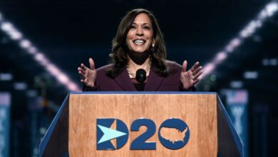 Photo of Kamala Harris Revives Promise of America in VP Nomination Acceptance Speech