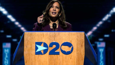 Photo of Kamala Harris Does Her Best to Redeem Our Sexist, Racist Past