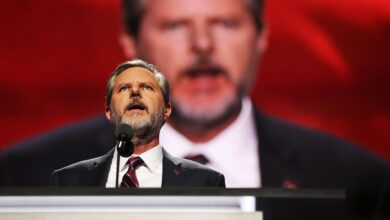 Photo of Jerry Falwell Jr. Would Like You to Know He's Getting Severance