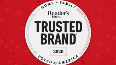 Photo of The 2020 Reader's Digest Most Trusted Brands in America