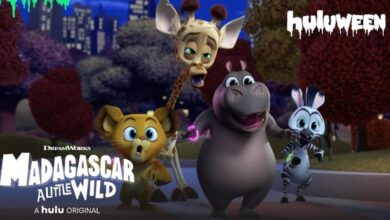 Photo of Hulu Releases Trailer for Madagascar: A Little Wild Halloween-Themed Special