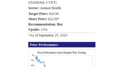 Photo of Covetrus Poised For Re-Rating Driven By Upbeat Outlook