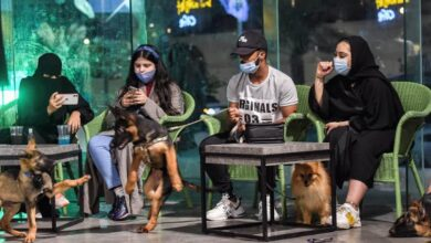Photo of In changing Saudi Arabia, first dog cafe delights pet lovers